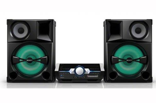 Chaîne Hifi Sony Shake 5 - 2400 watts (4 x 600 watts) - Bluetooth - NFC - Reconditionné