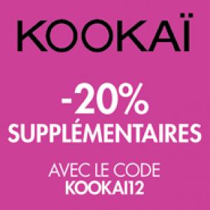 -20% supplémentaires sur les soldes Kookai