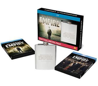 Coffret Blu-ray Boardwalk Empire saison 1 et 2 + flasque de Whisky