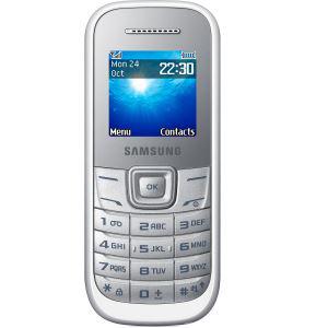Téléphone portable Samsung E1200 Blanc