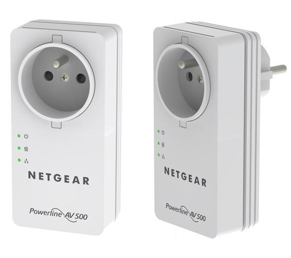 Pack de 2 Adaptateurs CPL Netgear XAVB5401-100FRS