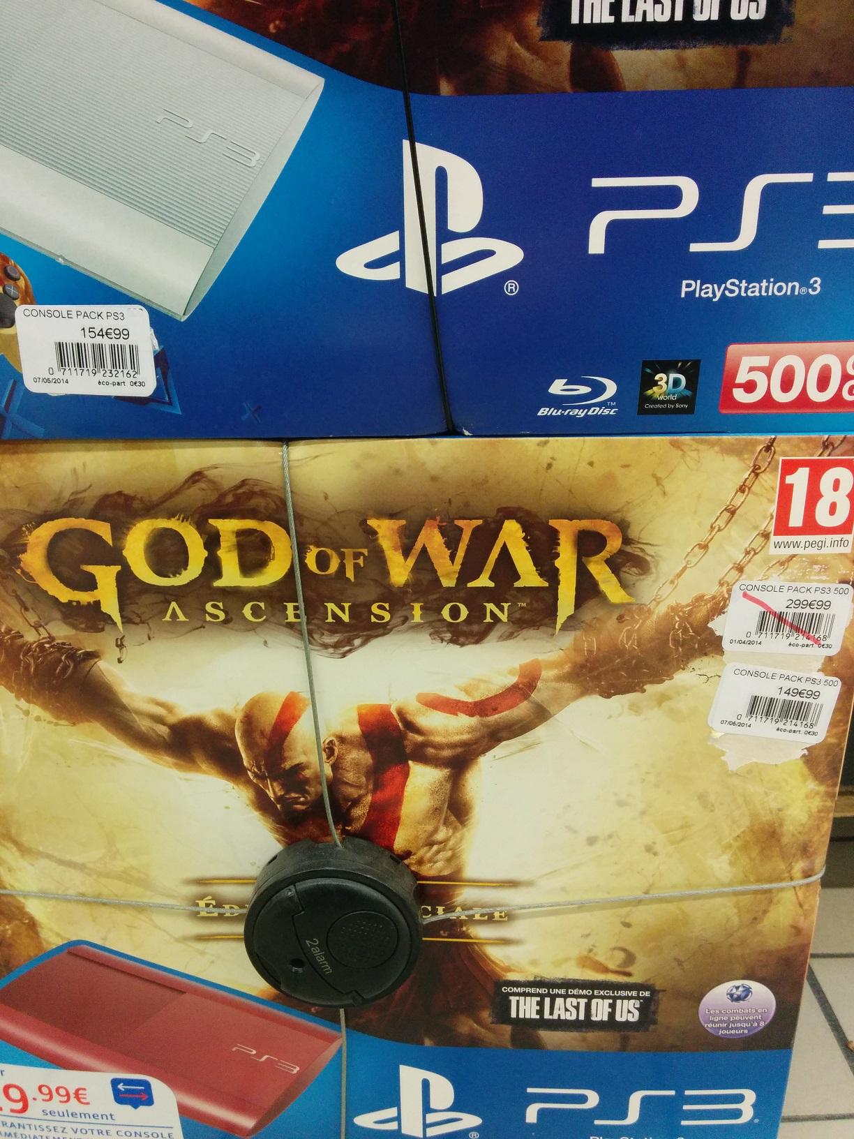 Pack PS3 Ultra Slim 500Go + God of War Ascension Edition Spéciale