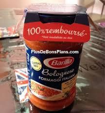 Lot de 2 sauces bolognaises 100% remboursé