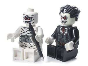 Réveil en figurine Lego Monster Fighters (Vampire ou momie) 23CM