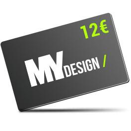 Carte Cadeau d'une valeur de 12€ jusqu'à