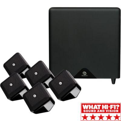 Pack 5.1 Boston Soundware XS MKII Noir