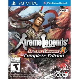 Dynasty Warriors 8: Xtreme Legends Complete Edition sur PS Vita