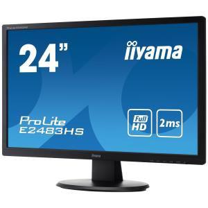 "Moniteur Full HD LED 24"" iiYama ProLite E2483HS-B1 + 70€ en 3 bons d'achat"