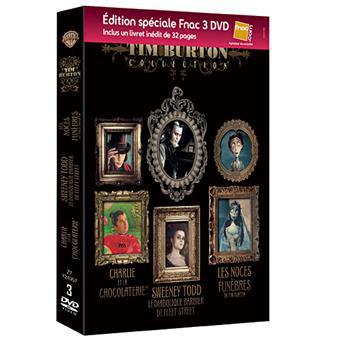 Coffret DVD Tim Burton - Edition Spéciale 3 films - Inclus Livret inédit