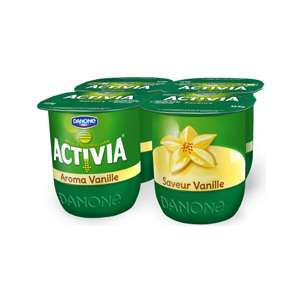 Lot de 12 yaourts Activia Saveur (3 x 4)