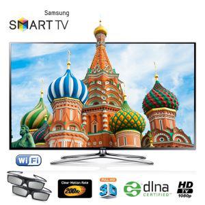 """TV 55"""" Samsung UE 55F6400 LED 3D Smart TV + 224€ en 3 bons d'achats"""