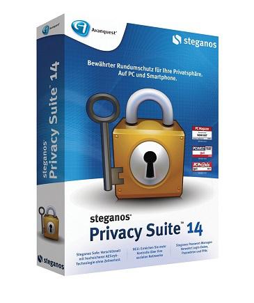 Logiciel Steganos Privacy Suite 14 Gratuit sur PC