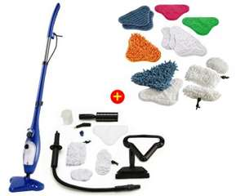 Balai Vapeur Clean Expert + Cleaning Kit Pro (Avec ODR de 50€)