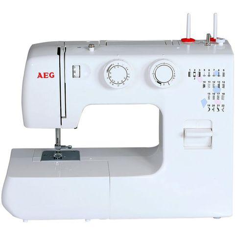 Machine à coudre AEG 380  (26 programmes) - Blanche