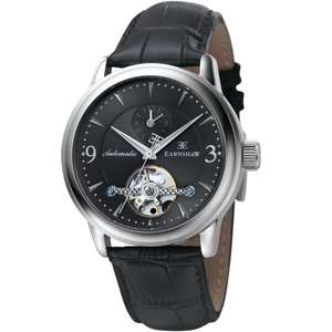 Vente privée Earnshaw - Ex : Montre automatique Earnshaw Regency noir