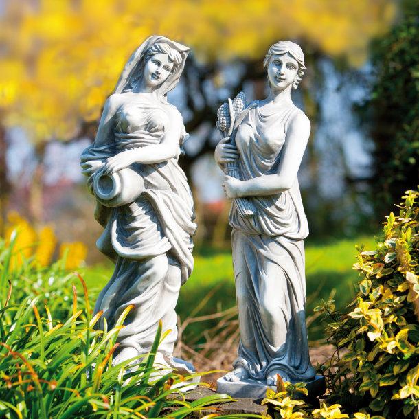Le 14/05 : Statue de parc en polyrésine (H: 50cm)