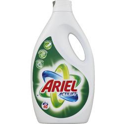 Lot de 2 bidons de lessive Ariel Actilift (Blanc/Couleurs) - 2 x 2,92L
