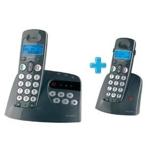 Téléphone sans-fil avec répondeur Alcatel Versatis XL + Voice duo