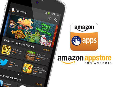 5$ de crédit offert sur l'Amazon App Store