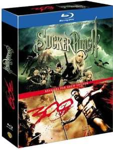 Coffret 2 Blu Ray : Sucker Punch + 300