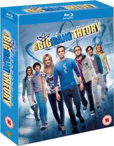 The Big Bang Theory - Coffret saison 1-6 Bluray