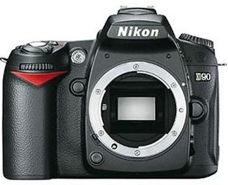 Reflex Nikon D90 - Boitier nu