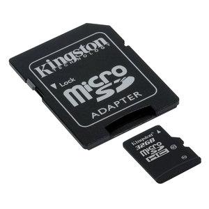 Enceintes Genius SP-HF1800A à 52.46€ et Carte mémoire Kingston microSDHC 32 Go Class 10 + adaptateur SDHC