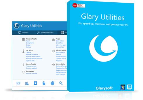 Logiciel Glary Utilities Pro - Licence gratuite à vie