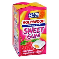 Hollywood Sweet Gum parfum Framboise/Pêche