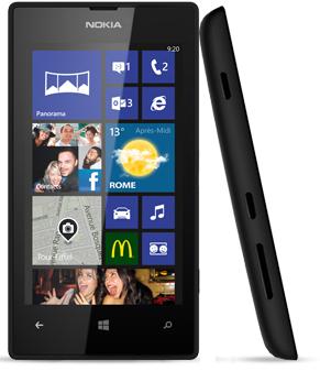 Smartphone Nokia Lumia 520 (ODR 30€)
