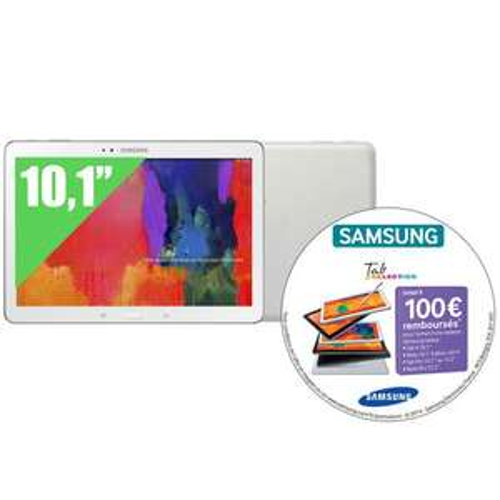 Tablette Samsung Galaxy Pro 10.1 Blanche 16go (100€ ODR)