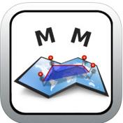 Application Measure Map gratuit sur iOS