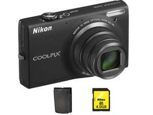 CoolPix S6150 + housse + carte SD 4Go