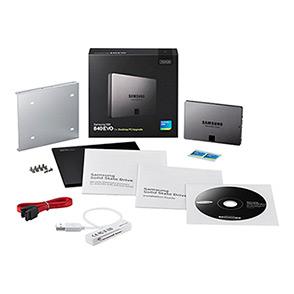 SSD Samsung MZ-7TE250KW 840 EVO 250 Go (Kit Complet)