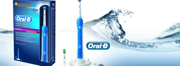Brosse à dents Oral-B Professional Care 2000