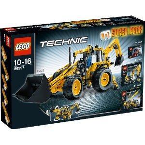 Jeu de Construction Lego Technic - 66397 - 4 en 1- Super Pack