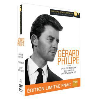 Coffret combo 3 Blu-ray + 3 DVD : Gérard Philipe - Edition limitée