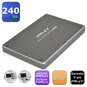 """Disque SSD PNY 240Go Professionnel 2.5"""""""