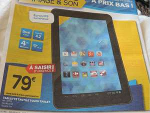 Tablette touch CT720 - Dual core - 4Go