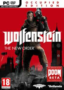 Pré-commande : Wolfenstein The New Order Occupied Edition sur PC