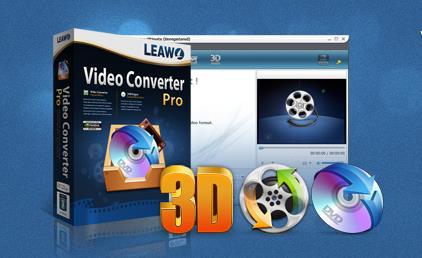 Logiciel Leawo Video Converter 3D Pro gratuit sur Windows/Mac (au lieu de 30€)