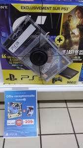 Pack PS3 500 Go Gran Turismo 6 + The Last Of Us + Beyond Two Souls