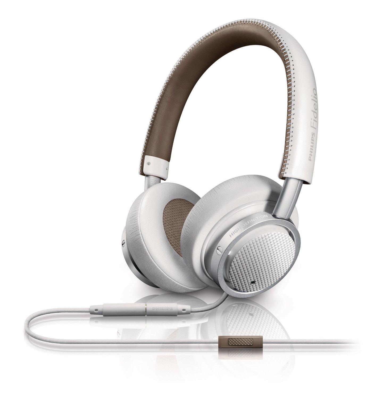 Casque Audio Philips Fidelio M1WT/00 Blanc avec micro