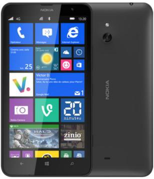 Smartphone Nokia Lumia 1020 - 4g à 389€ et Smartphone Nokia Lumia 1320 - 4g