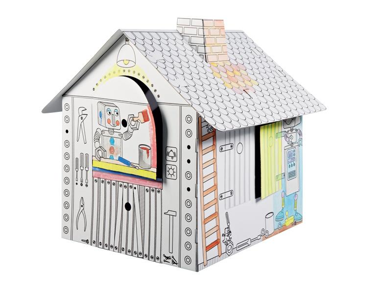 Maison de jeux pour enfant en carton Play Tive Junior