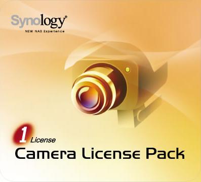 Une licence caméra Synology offerte