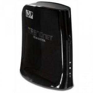 Pont Wifi Trendnet TEW-687GA - Adaptateur Multimédia 450Mbps