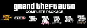 Jeu PC : Grand Theft Auto Complete Pack