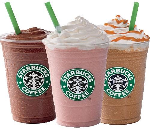 50% de remise sur les Frappuccino entre 15h et 17h