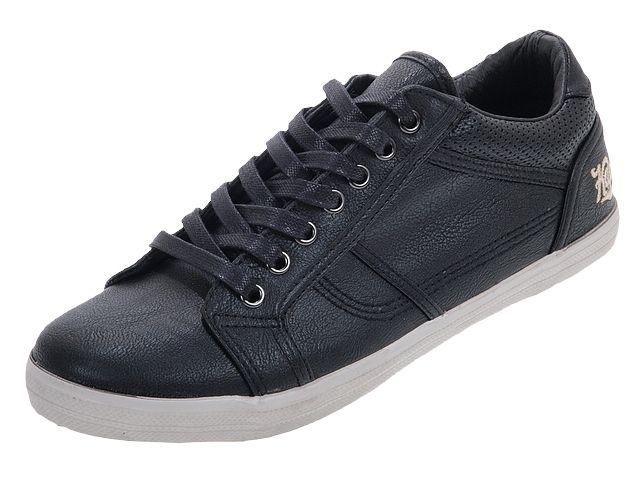 Baskets basses Kaporal Trevis (modèle noir ou marron)
